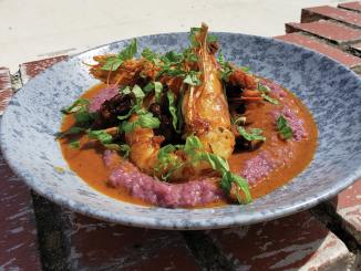 Shrimp and Grits from Wye Hill