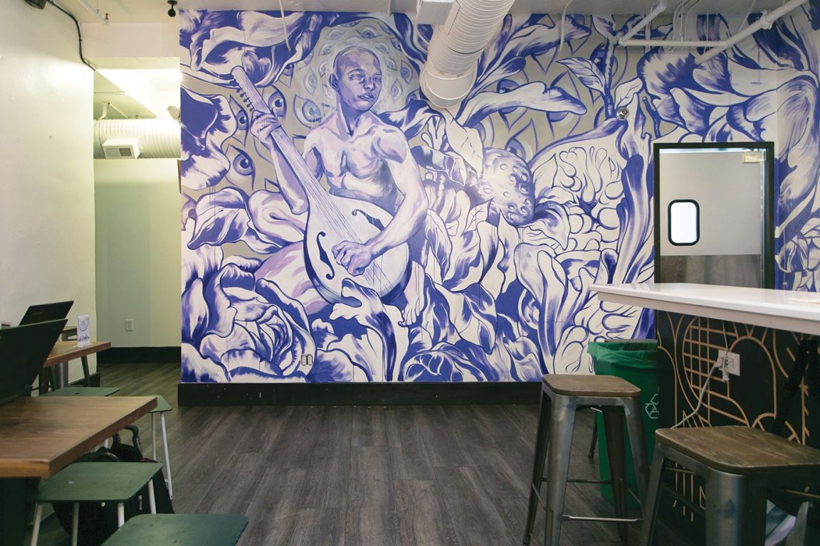A mural by Taylor White