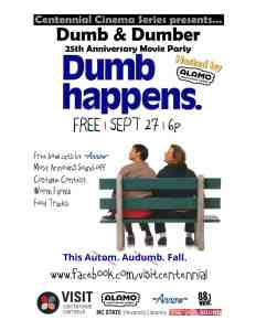 Dumb & Dumber 25th Anniversary Movie Party @ Lake Raleigh Meadows | Raleigh | North Carolina | United States