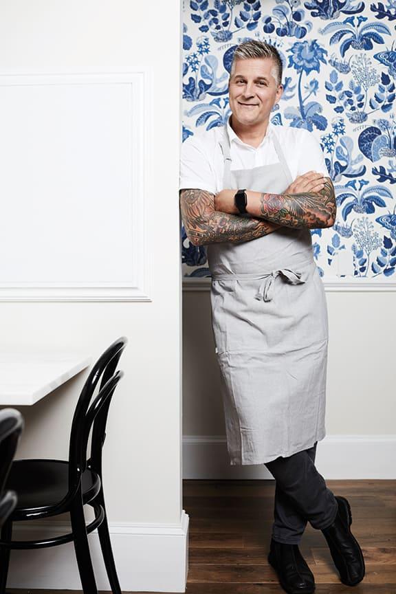 Chef Scott Crawford