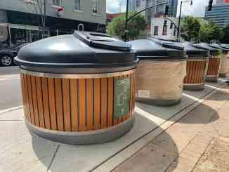 Molok trash system