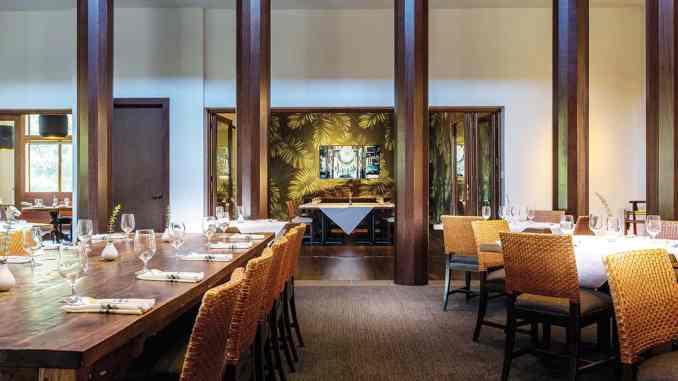 kō•än's main dining room