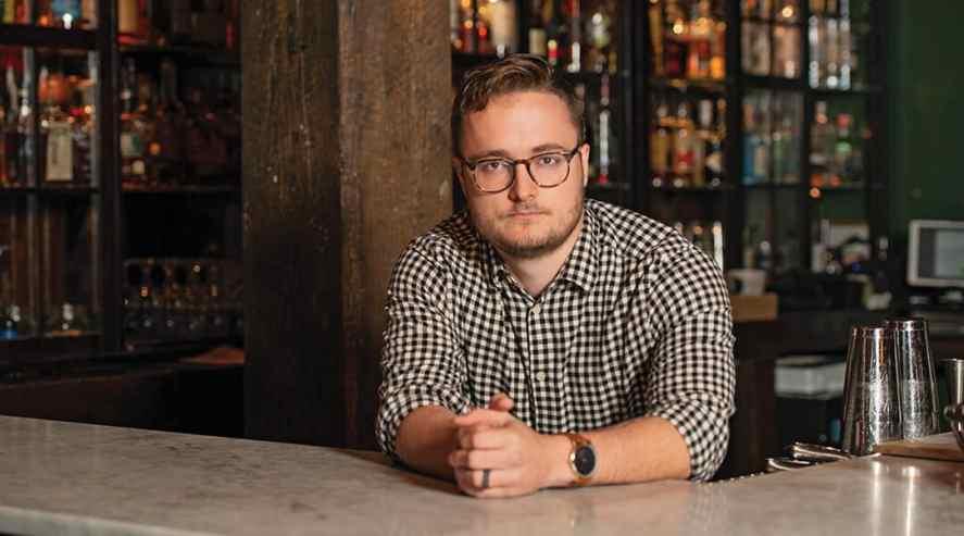 Logan Mosteller, Beverage Director of Watts & Ward