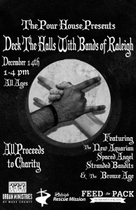 Deck the Halls with Bands of Raleigh @ The Pour House Music Hall and Record Shop | Raleigh | North Carolina | United States