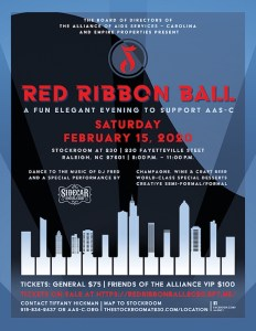 The Red Ribbon Ball 2020 @ The Stockroom at 230 | Raleigh | North Carolina | United States