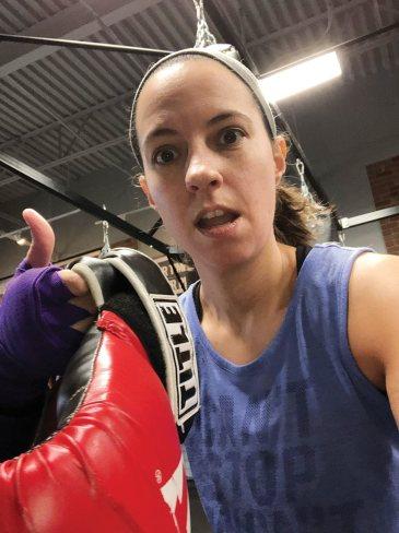 Writer Tracy Jones test drives cardio boxing