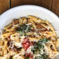 Pasta dish from Corto Restaurant, Jersey City, NJ by Chef Matt Moschella
