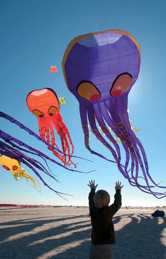 Cape Fear Kite Festival at Kure Beach