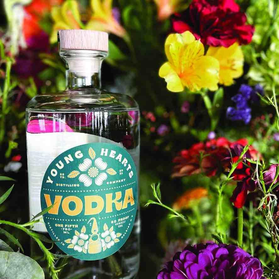 Young Hearts distilling vodka
