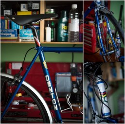 Dave Yates Frame Building Course Complete Bike DENTON Decal