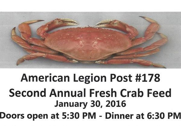 American legion crab feed, blog provided by Ralene Nelson, Rio Vista Realtor
