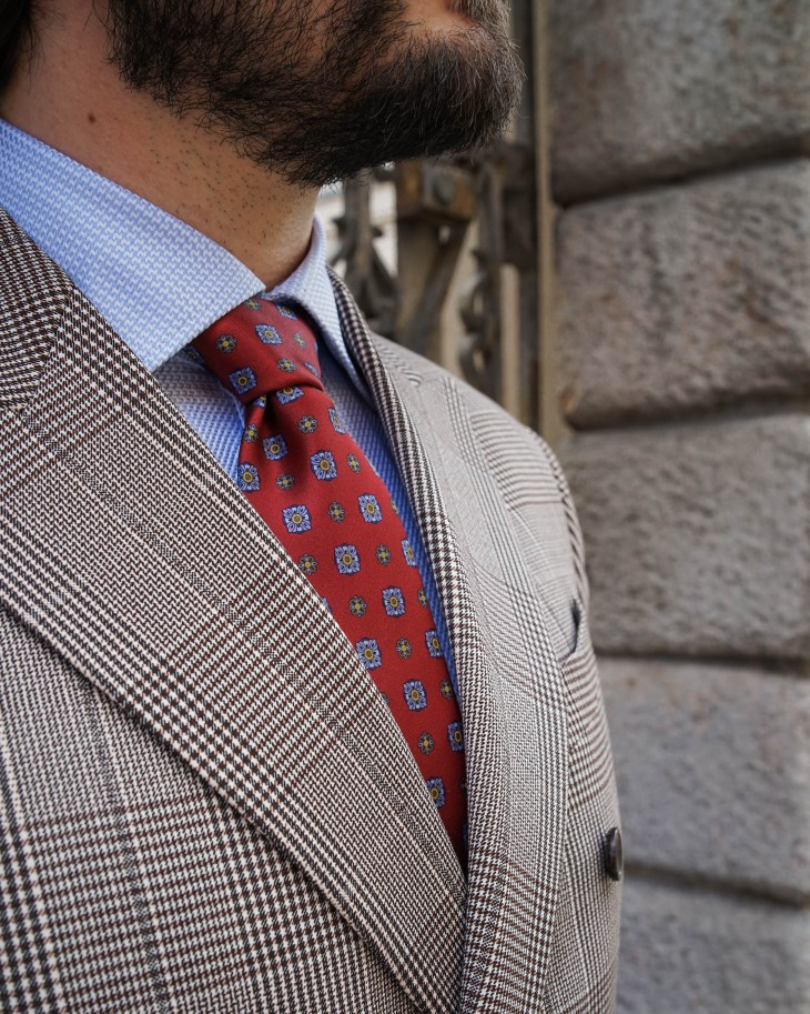 The gent style blogger, Rale Popic, men style, double breast blazer, tie