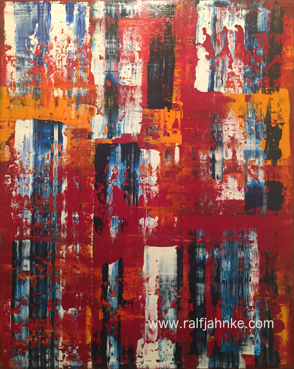 contemporary abstract art painting, © Ralf Jahnke-Wachholz, abstract art Gallery,