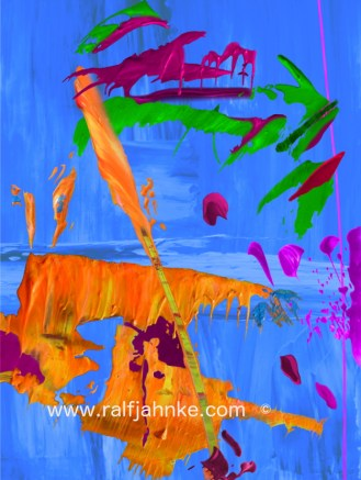 contemporary digital abstract art print / © Ralf Jahnke-Wachholz, contemporary abstract artist – paintings and digital abstract art prints