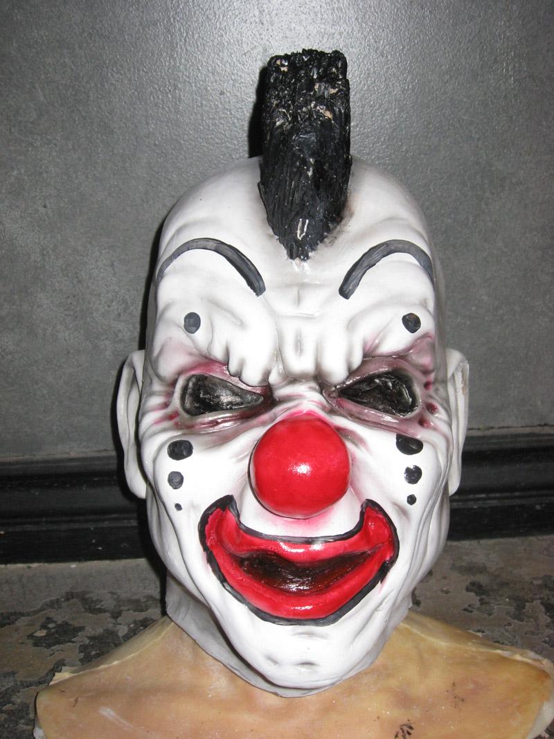 Custom Clown Mask  Ralis Kahn