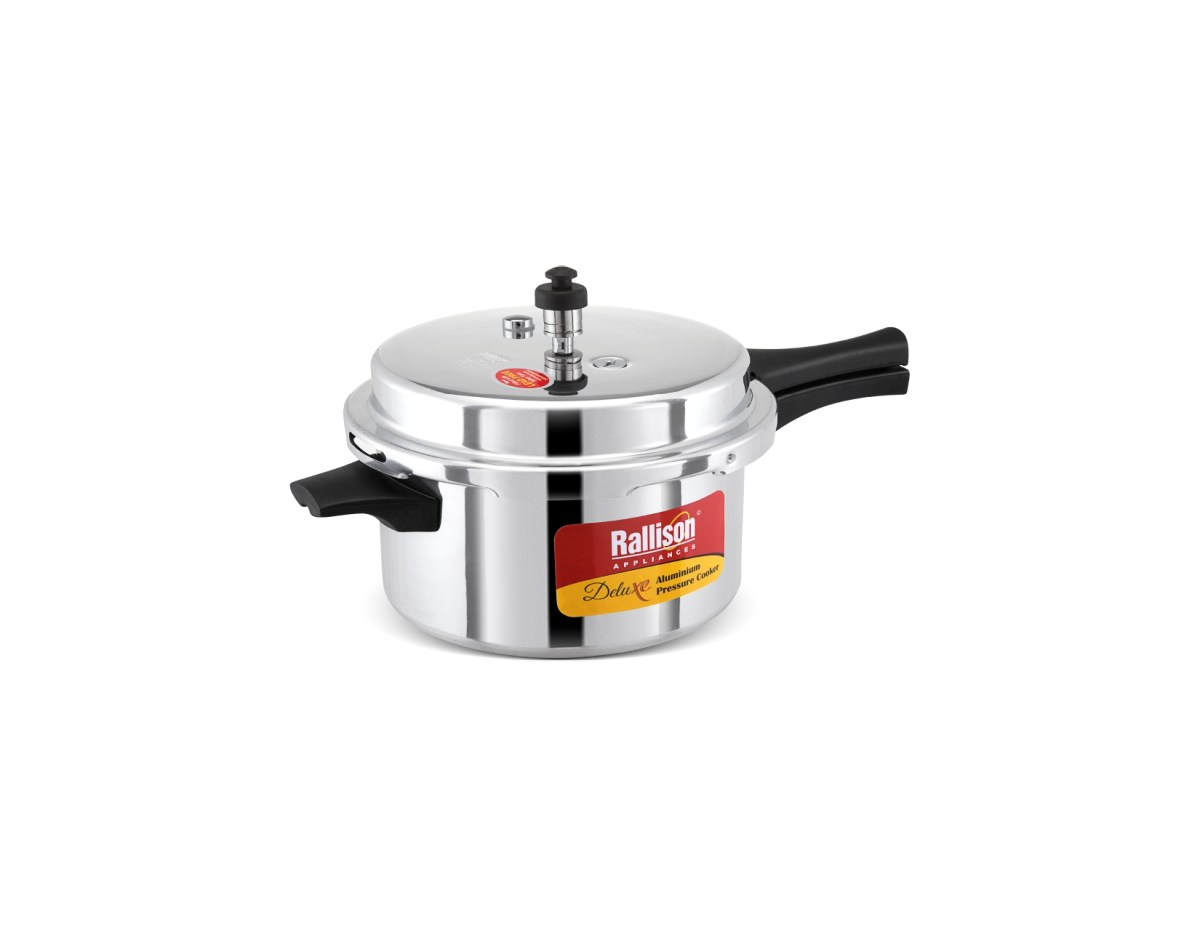 Rallison pressure cooker Deluxe 7.5 ltr (Aluminium)