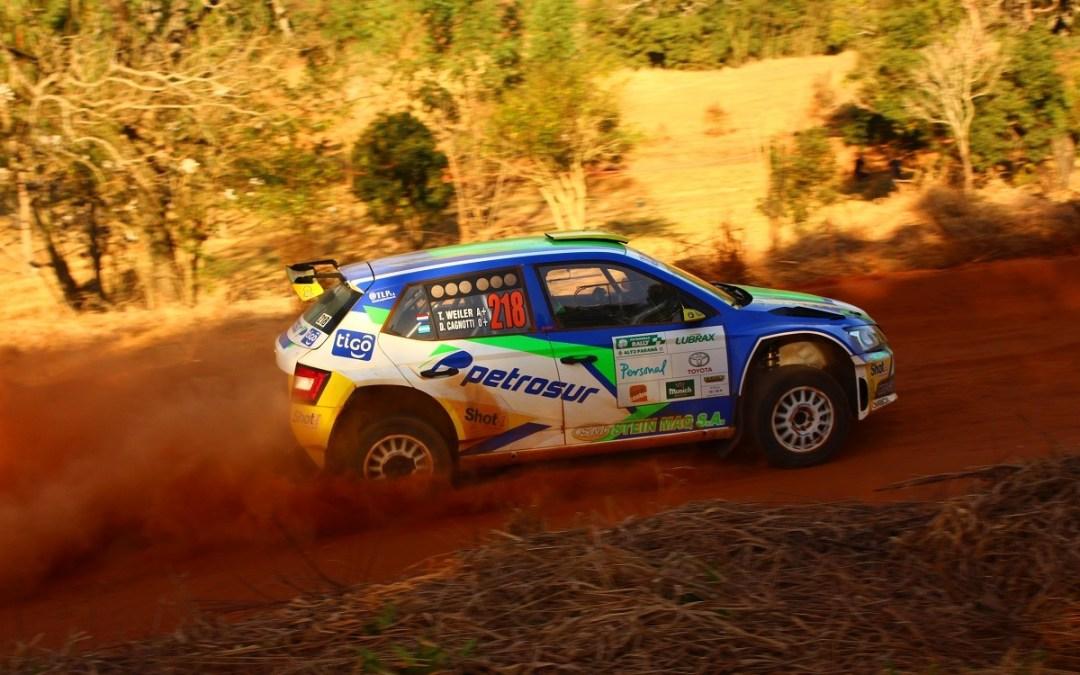 Rally de Alto Parana 2017: Tiago Weiler da el primer batacazo en la jornada sabatina