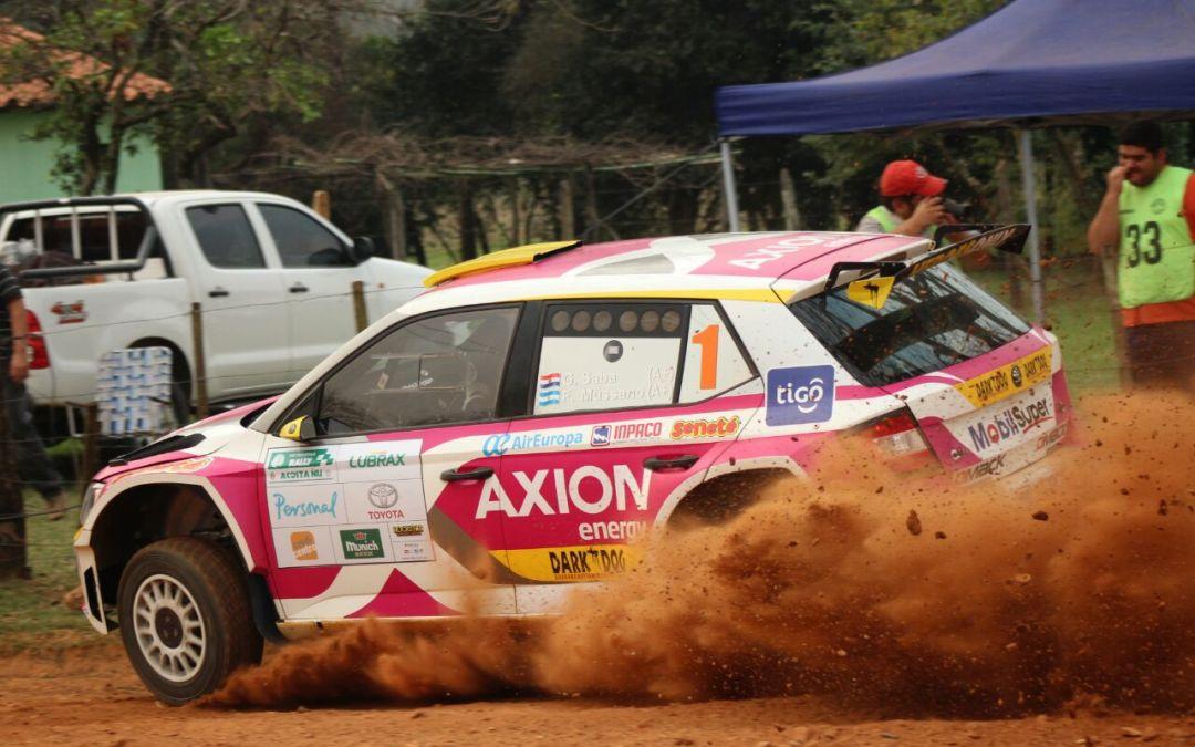 Rally de Acosta Ñu 2017: Saba y Zaldívar marcan el ritmo en el Shakedown