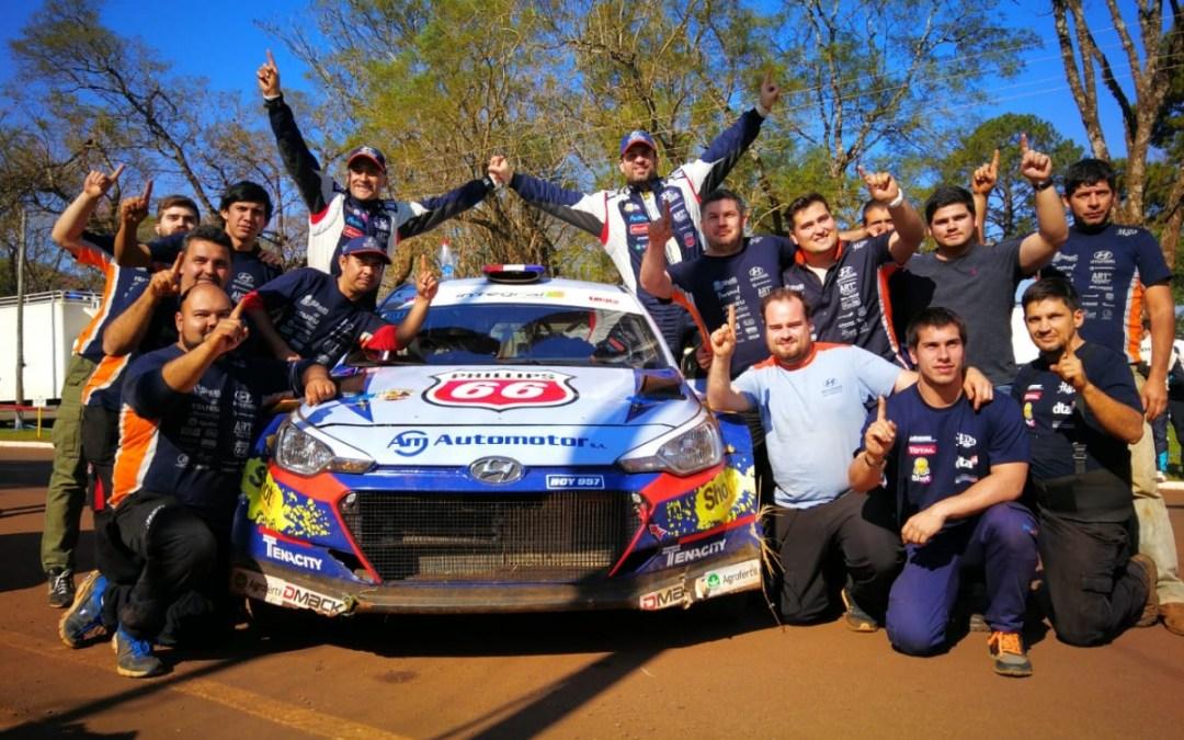 Petrobras Rally de la República 2018: nuevamente, todo queda en familia con la victoria de los Domínguez