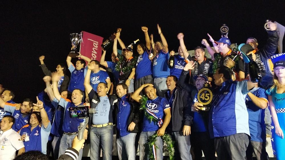 ¡¡Salud a los campeones del XLV Petrobras Transchaco Rally!!