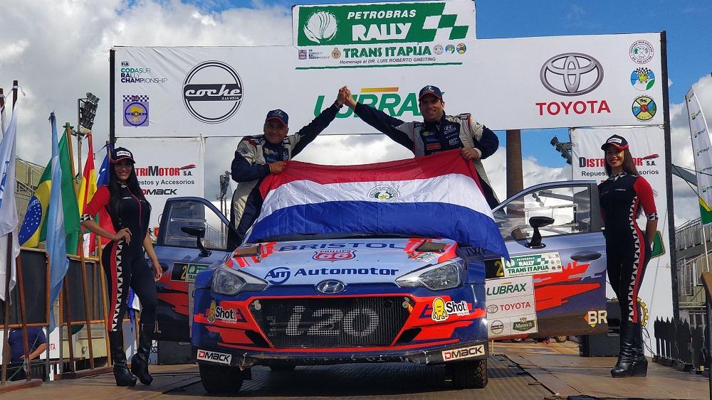 Petrobras Rally Trans Itapúa 2019: Diego Domínguez logra la cuarta victoria en su historial