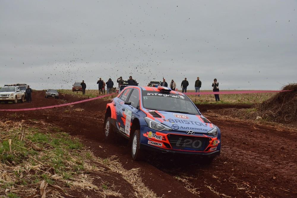 Petrobras Rally de la Soja 2019: Diego Domínguez culmina la primera etapa al frente de la clasificación general