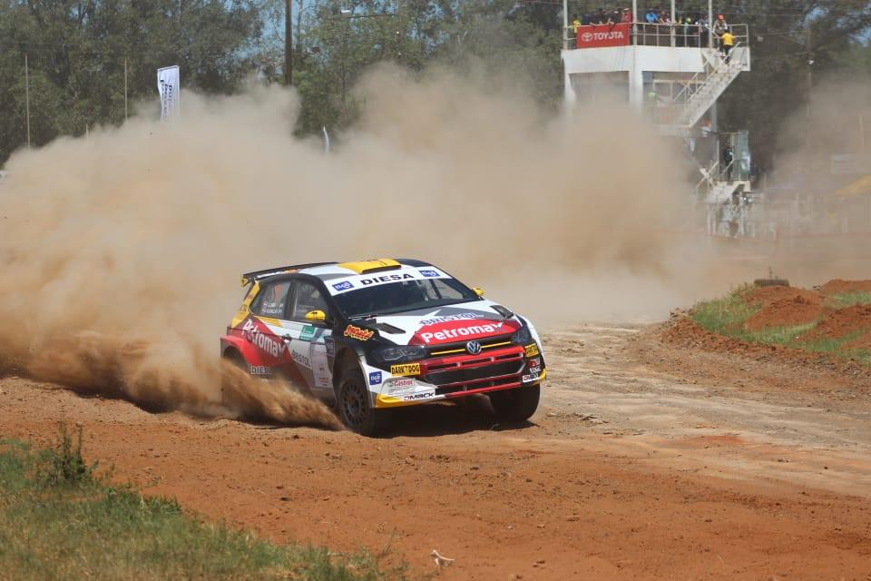 XLVI Petrobras Transchaco Rally: La octava pole de Saba y Zaldívar abriendo los caminos redondean una tarde de ensueño para Volkswagen