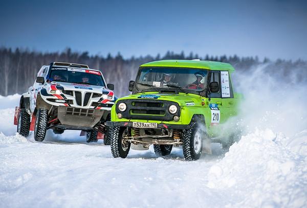 Снежная битва в Алабино