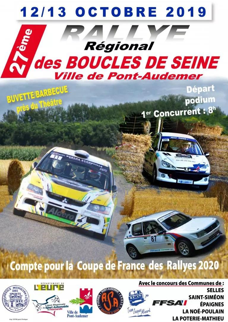 Les Boucles De La Seine 2019 : boucles, seine, Liste, Engagés, Rallye, Boucles, Seine