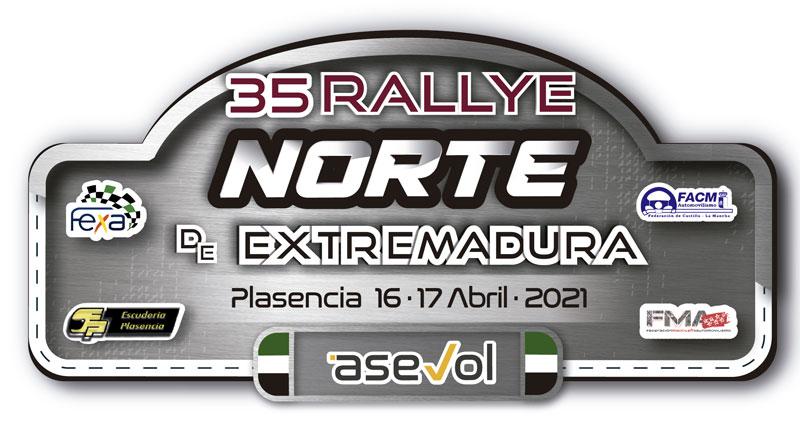 Toda la información del 35 Rallye Norte de Extremadura