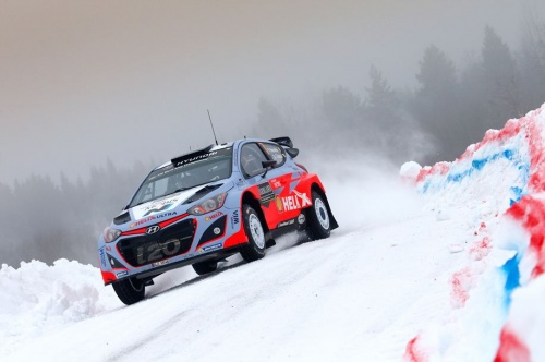 WRC Rally Sweden 2015 After Day3