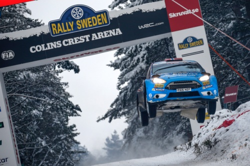 WRC RALLY SWEDEN 2016 DAY2