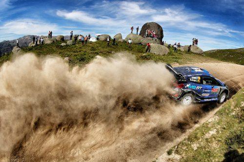 WRC RALLYE DE PORTUGAL 2017 DAY2