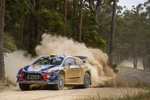 WRC RALLY AUSTRALIA 2017 DAY1