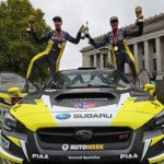 SUBARU DRIVER PATRIK SANDELL VICTORIOUS AT RAIN-SOAKED TOUR DE FOREST RALLY