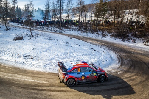 WRC RALLY MONTE-CARLO 2019 DAY3