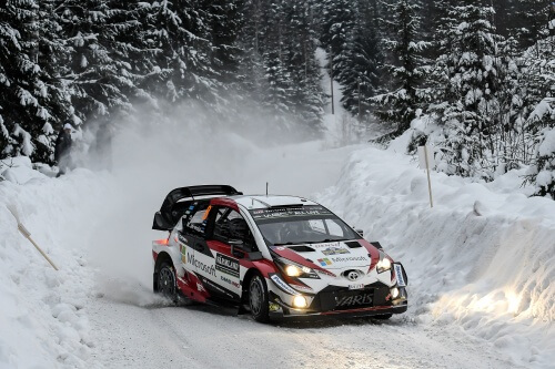 WRC RALLY SWEDEN 2019 SCHEDULE