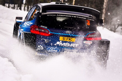 WRC RALLY SWEDEN 2019 DAY1-2