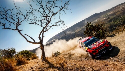 WRC RALLY MEXICO 2019 DAY2