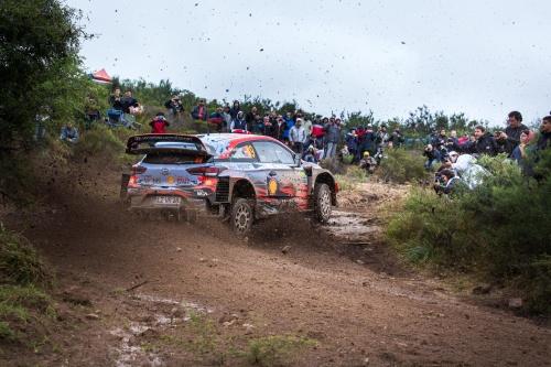 WRC RALLY CHILE 2019 SHAKEDOWN