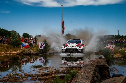 WRC RALLY ITALIA SARDEGNA 2019 DAY2