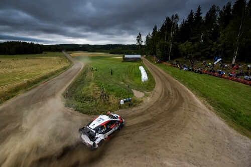 WRC RALLY FINLAND 2019 DAY3