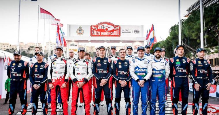 WRC Rallye Monte-Carlo 2020 Day 1