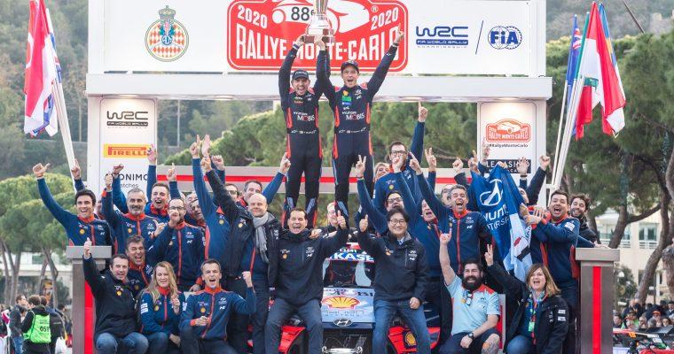 WRC Rallye Monte-Carlo 2020 Final