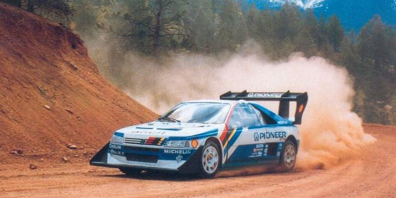 """Peugeot 405 T16 """"Pikes Peak"""" (1988-89)"""
