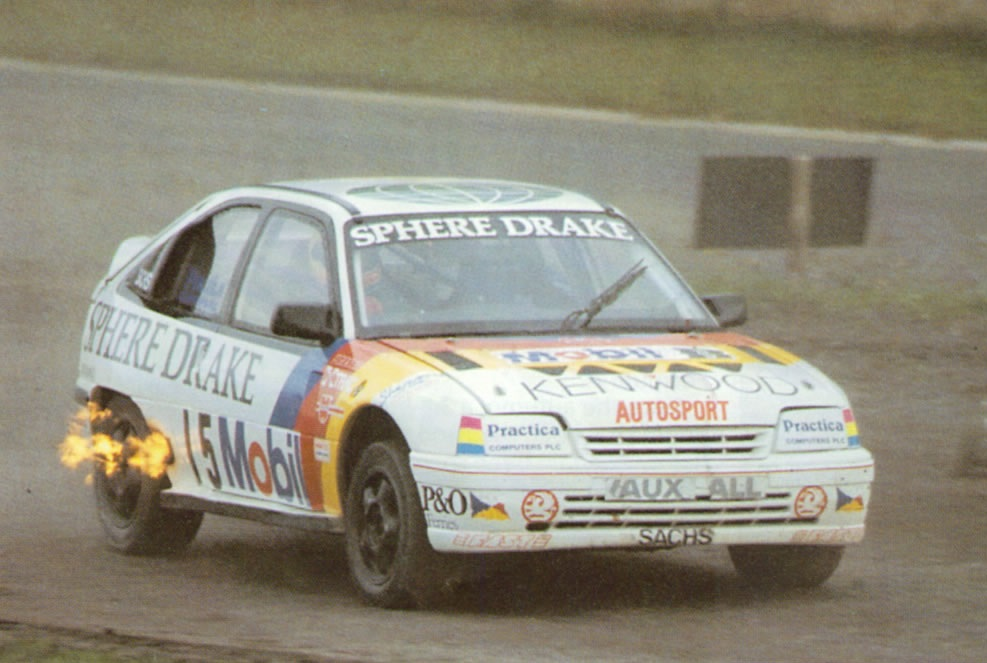 RX Opel/Vauxhall Astra 4S – John Welch | Rally Group B Shrine