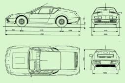 renault-alpine-a310-v6-drawing