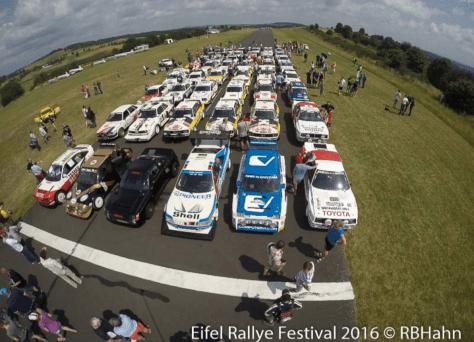 2016 Eifel Rallye Festival Participants