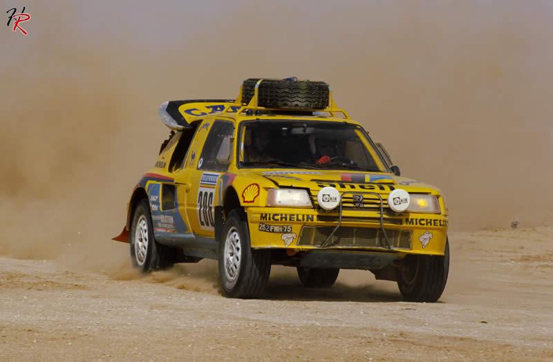 1987 Paris-Dakar version