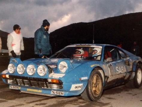 Ferrari 308 Gtb Group 4 B Rally Group B Shrine